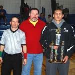Ilio D'Paulo MOW Award - Angelo Malvestuto, 189 lbs, Niagara Wheatfield