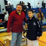Tom Broad Overachiever Award - Ricky Schweikhard, 103 lbs, Niagara Wheatfield