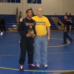 Illio DiPauolo Memorial Outstanding Wrestler Award Renaldo Rodriguez-Spencer (Cheektowaga)